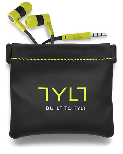 TYLT headset and carry bag