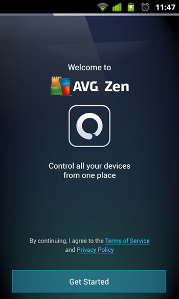 AVG Zen Screenshot 1