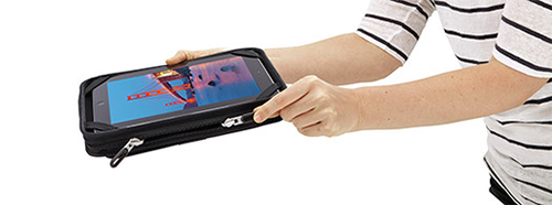 Case Logic iPad Case Holding