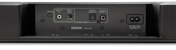 Denon DHT-T100 Connections
