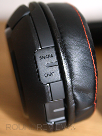 Right Ear Cup Button & Ports
