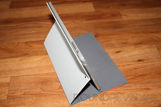 Everything Tablet Flip Case Standing