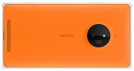 Nokia Lumia 830 Back