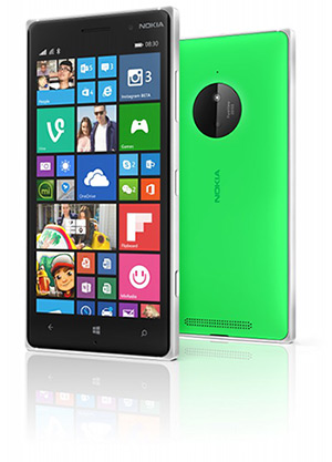 Nokia Lumia Front & Back