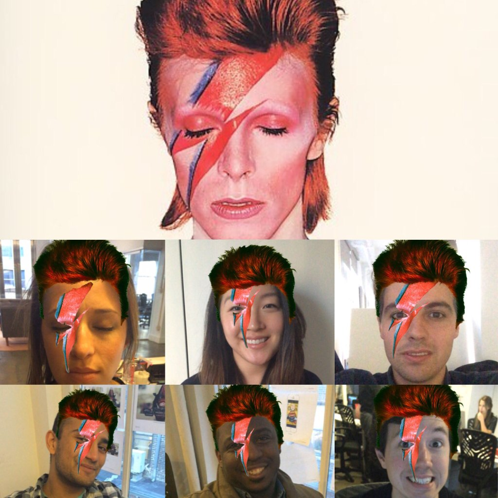 Blippar Bowie In Use